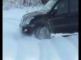 По снегу на Прадо...