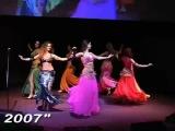 Костюмы для танца живота от Иман и Хода Заки.